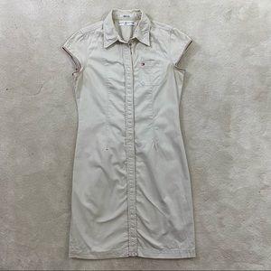 Tommy Hilfiger Women Career Denim Snap Dress Sz 8